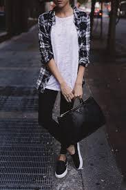 Black And White Plaid Shirt Womens 20 New Ways To Wear A Plaid Shirt U2013 Closetful Of Clothes