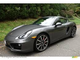 porsche cayman 2015 grey 2014 porsche cayman s in agate grey metallic 191355