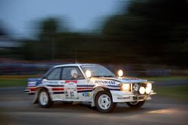 opel race car opel ascona b 400 homologation version rally group b shrine