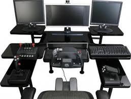 Gaming L Desk Best Gaming Setup Desk Innovative Marvelous Pertaining To Modern