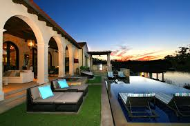 Luxury House Plans With Pools Adorable Spanish Style Luxury Homes Brings Casual Details For You