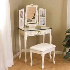 Small Corner Vanity Table Magnificent Gray Wall Mounted Corner Vanity Table With Mirror Made