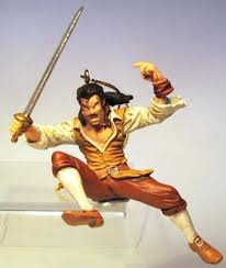 jumping pirate storybook ornament from our collection