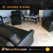 Leather Sofa Dyeing Service Releather Before And After Gallery Couches Sofa Sets