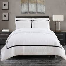 truly soft everyday hotel border 7 piece duvet cover set free