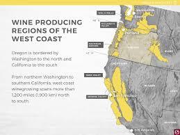 Washington Coast Map Launching Summer 2016 A New Oregon Wine Education Website