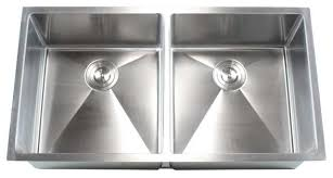 Stainless Steel Undermount  Double Bowl Kitchen Sink - Brushed stainless steel kitchen sinks