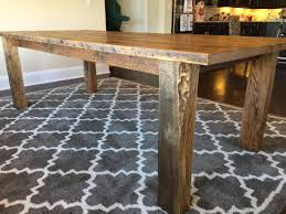 Harvest Kitchen Table by Lisa U0027s Barnwood Farmhouse Dining Table Fama Creations