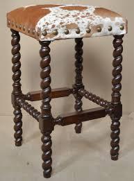 cowhide chairs cowhide bar stools cowhide ottomans john proffitt