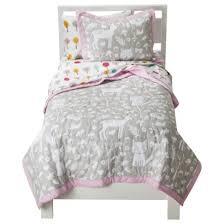 Circo Girls Bedding by Circo Woodland Friends Quilt Set I Loooooove This But The