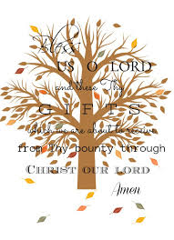 Blessed Thanksgiving A Thanksgiving Blessing Stonegable