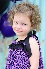 cute hairstyles for short curly hair for kids girls with hairclips