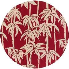 Round Red Rugs Bondi Red Tropical Outdoor Rug U2013 Sky Iris