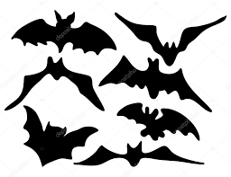 icon halloween halloween creepy scary bat silhouette vector symbol icon design