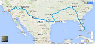 map your usa road trip show my trip on a map arabcooking me