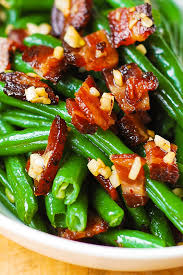 garlic and bacon green beans s album