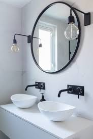 bathroom dark tile bathroom black and white mosaic tile bathroom