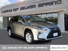 lexus rx for sale certified used 2017 lexus rx for sale in silver md stock