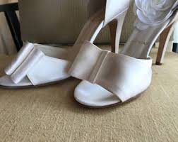 Wedding Shoes Off White Ivory Bridal Shoes Etsy