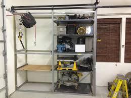 unistrut storage garage organization pinterest storage shop