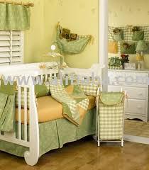 Green Nursery Decor Bright Green Yellow Boutique Baby Bedding Crib Sets Nursery