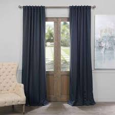 Home Theater Blackout Curtains Rod Pocket Curtains U0026 Drapes Window Treatments The Home Depot
