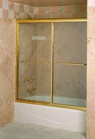 Gold Shower Doors Marvelous Gold Sliding Shower Doors Pictures Best Interior