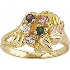 black gold mothers ring black gold jewelry g924 gn women s black gold