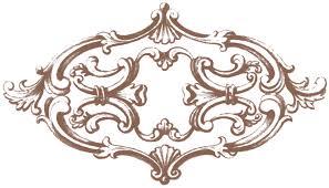 vintage ornament clipart 74
