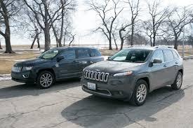 jeep compass length 2014 jeep versus 2014 jeep compass cars com