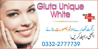 Gluta Skin Care best anti aging skin care products gluta unique white in sialkot