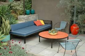 fancy mid century modern patio furniture with within outdoor ideas 2