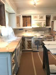 plum prettypainted kitchen cabinets budget kitchen makeover part