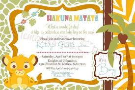 lion king baby shower invitations baby shower invitations lion theme celebrate the circle of