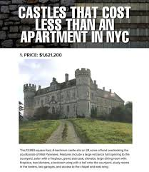 Meme Nyc - castles vs apartments in nyc the meta picture