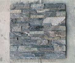 Stacked Stone Veneer Backsplash by Dark Grey Granite Wall Stone Cladding Corner Prices Cultured