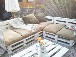 canap en palette de bois amenager jardin avec des meubles en palettes bois nouveau
