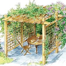 How To Cover A Pergola From Rain by How To Build A Pergola For Backyard Shade Diy Mother Earth News