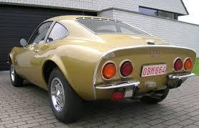 vintage opel car opel gt