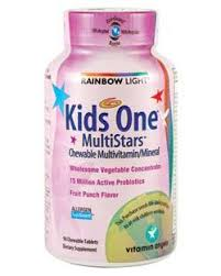 rainbow light kids one rainbow light active 50 multivitamin with coq10 food