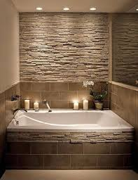 Bathtub Decorations 31 Stone Accent Wall Ideas For Various Rooms Digsdigs