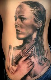 tattoo portraits on arm black u0026 grey portraits realistic realism woman tattoo slave to