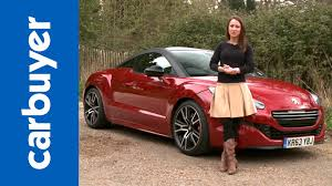 peugeot sports car price peugeot rcz r coupe 2014 review carbuyer youtube