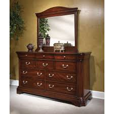 Broyhill Mission Style Bedroom Furniture Furniture Lovely Brown Wooden Dresser With Silver Handle And