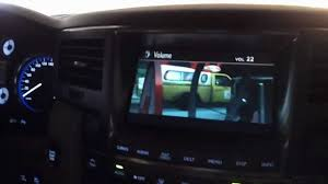 lexus lx 570 entertainment system lx570 iphone adaptor youtube