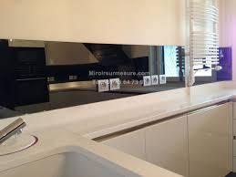 credence pour cuisine crédence miroir sur mesure pour votre cuisine miroirsurmesure com