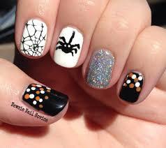 spooky halloween nail art halloween pumpkin designs pinterest