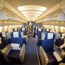 Klm Economy Comfort Seat Map Klm Boeing B747 400 Combi New World Business Class