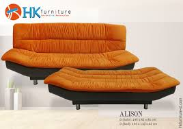 Orange Sofa Bed Sofa Bed Hk Furniture Indonesia