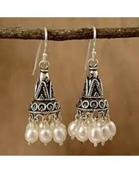 and pearl chandelier earrings amazing deal on pearl chandelier earrings indian ivory india